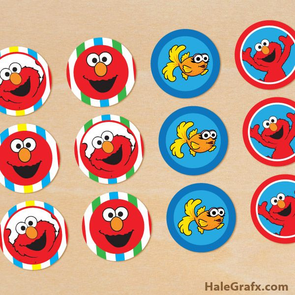 90 best Elmo Birthday Party images on Pinterest Birthdays Elmo