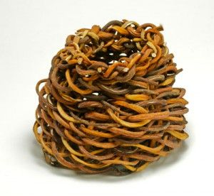 Kelp basket by Linda Weatherwax