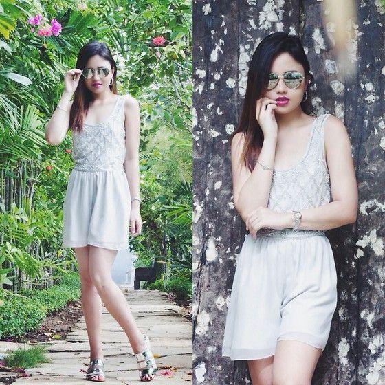 Nicole Aguinaldo - Miss Selfridge Playsuit, Metro Sunnies, Luree Sandals - Bali Nights