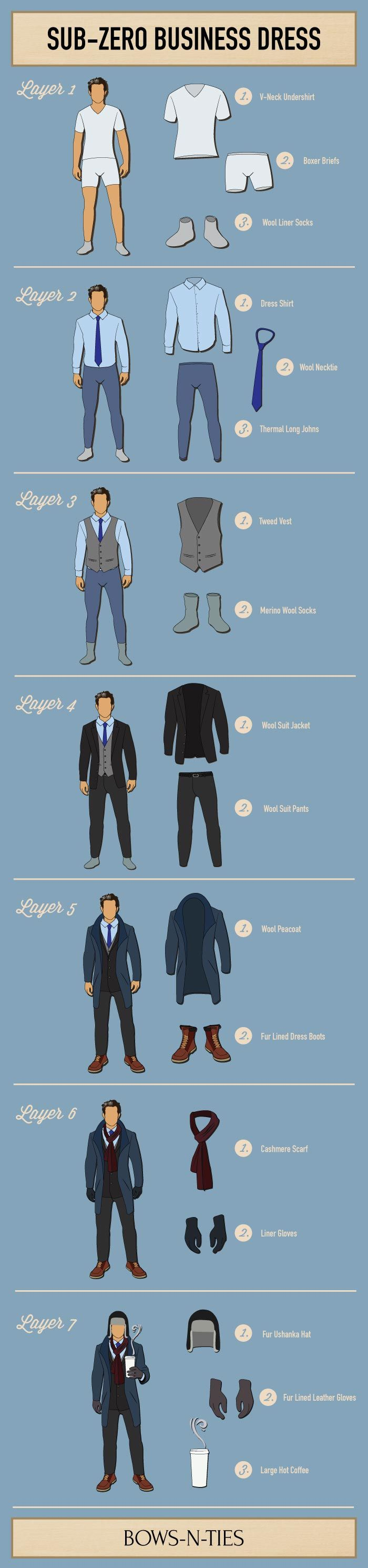 Snowmageddon. Snowpocalypse. Snowzilla! The handy guide to Sub-Zero Business Dress to fight record breaking winters.