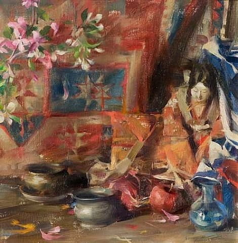artnet Galleries: Oriental Arrangement by Quang Ho from Catto Gallery