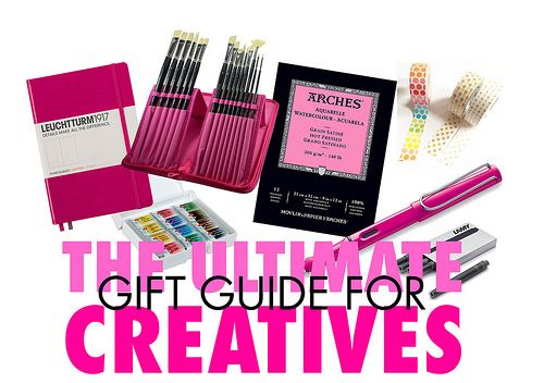 iHanna's Awesome Ultimate Gift Guide for Creatives and Artist Wannabes