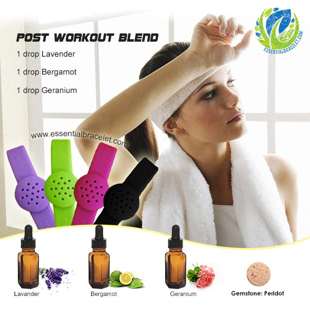 Post Workout Blend From Essential Bracelet Add This
