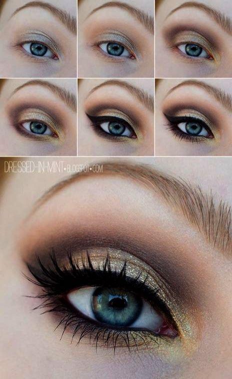 Hervorragend – Augen Make-up für blaue Augen rotes Haar;) – #Augen #blaue #eyem… – Martha Korngold