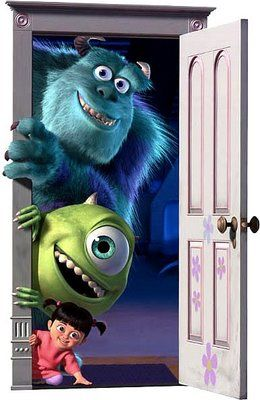 Love Boo in Monster's inc.