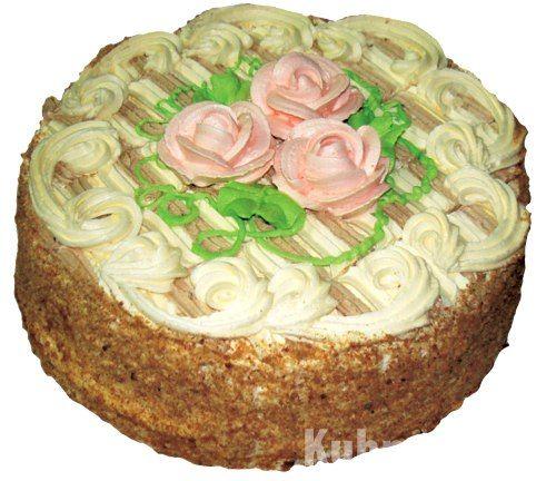 Бисквитно кремовый торт способ приготовления