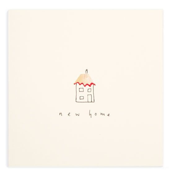 New Home Card Pencil Shavings Collection | Ruth Jackson | Blank | Handmade | Forages