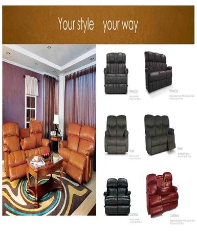 """Decorate your home with modern style by using our""""La-Z-Boy"""" collection as a centerpiece in your living room."""