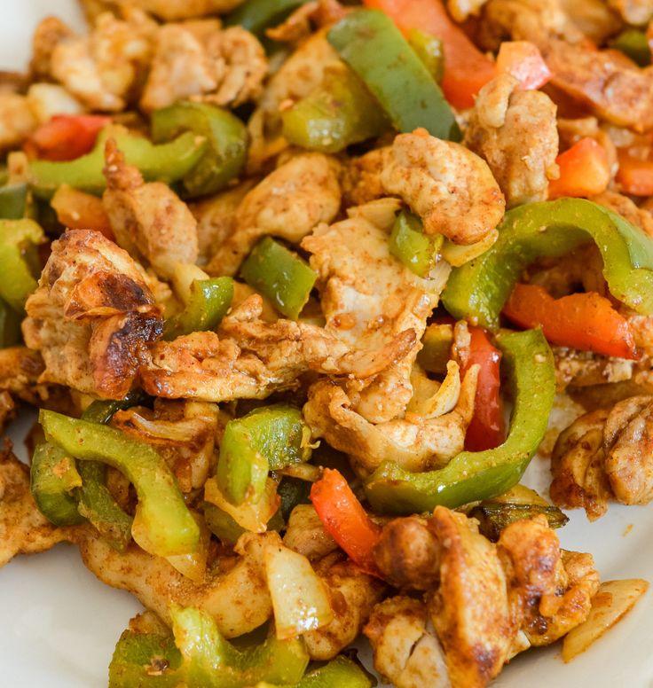 Ninja foodi chicken fajitas air fryer recipe in 2020