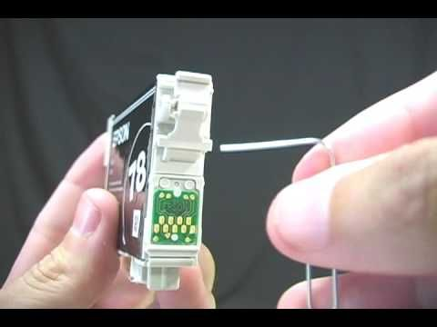 Printer Ink Secret, Revealed -- Watch this to find out how to reset the memory on your ink cartridge. There might still be some ink in there!! Darn those printer companies and their sneaky ways!