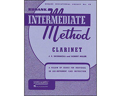 Hal Leonard Rubank Intermediate Method Clarinet by Varies https://www.amazon.com/dp/B00065PWNO/ref=cm_sw_r_pi_dp_x_m7U8ybY4KDDVY