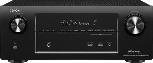 Denon AVR-X2000 7.1-channel home theater receiver with Apple AirPlay® from Crutchfield on shop.CatalogSpree.com, your personal digital mall.