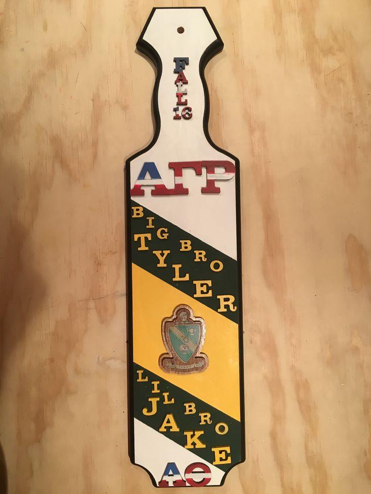 AGR Fraternity Paddle