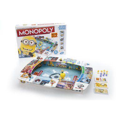 Minion Monopoly Amazon.com: Monopoly Despicable Me 2 Game: Toys & Games