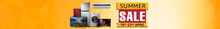 Amazon Summer Sale : Lot of exciting deals across Televisions Washing machines AC  Microwave and Refrigerators