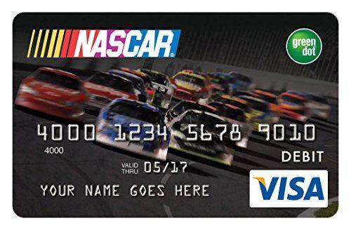NASCAR®+Reloadable+Prepaid+Visa+Card