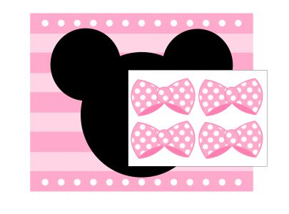 119 best images about diy minnie mickey mouse free for Free printable minnie mouse bow template