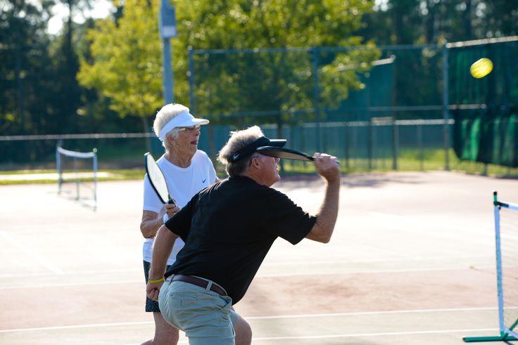 Pickleball at the 2014 Palm Coast Senior Games