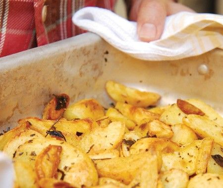 David Rocco's Roasted Potatoes Recipe | from David Rocco's Dolce Vita cookbook | House & Home