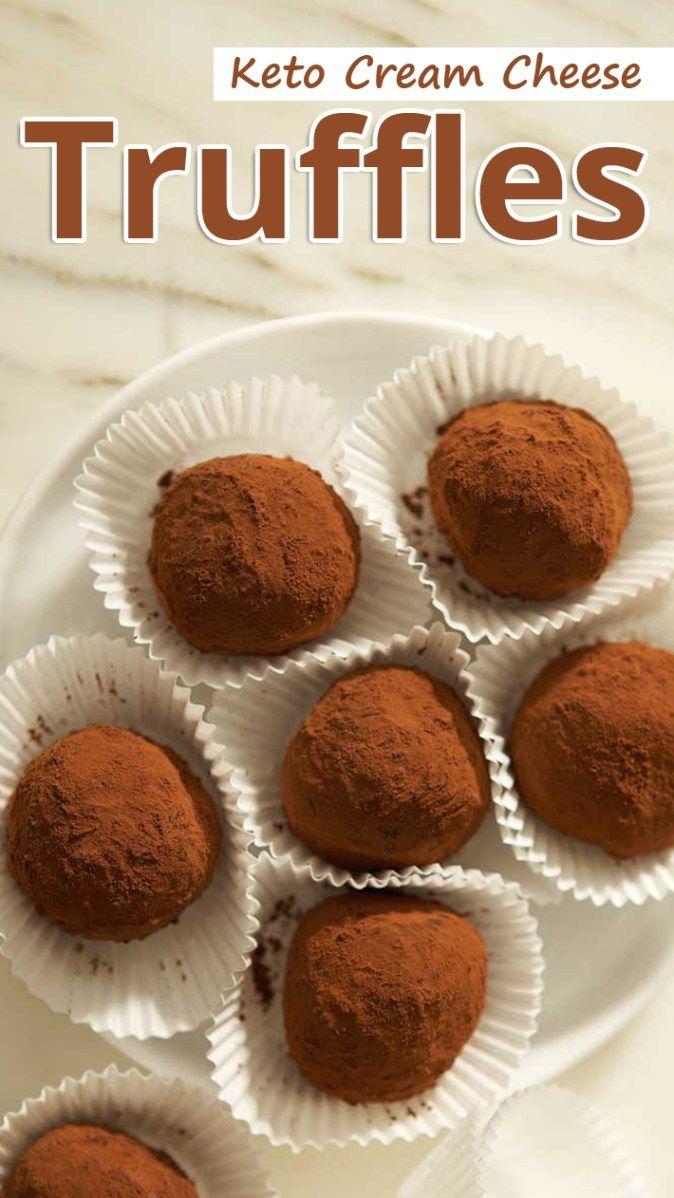 """""""Diese Keto-Frischkäsetrüffel sind dekadente Häppchen voller Schokolade, Kaffee …"""