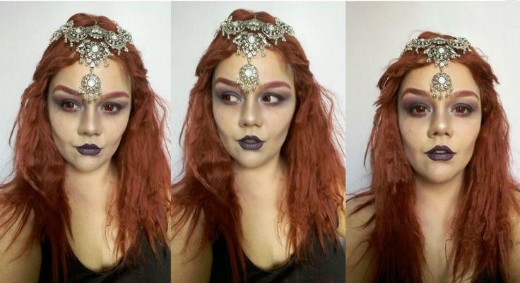 Evil Mermaid Makeup Maquiagem Sereia Macabra by Melina Beraldo