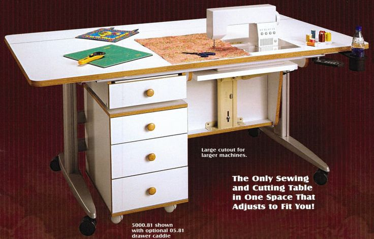 1000 Images About Sewing Tables On Pinterest