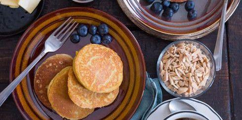 Миндальные блины — вкусный безглютеновый десерт