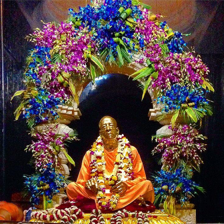 """#Vrindavan #SrilaPrabhupada #samadhi"""""""