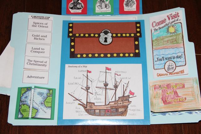 Shower of Roses: New World Explorers Unit Study and Lap Book