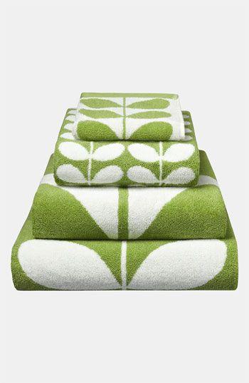 Orla Kiely 'Stem Jacquard' Hand Towel available at #Nordstrom