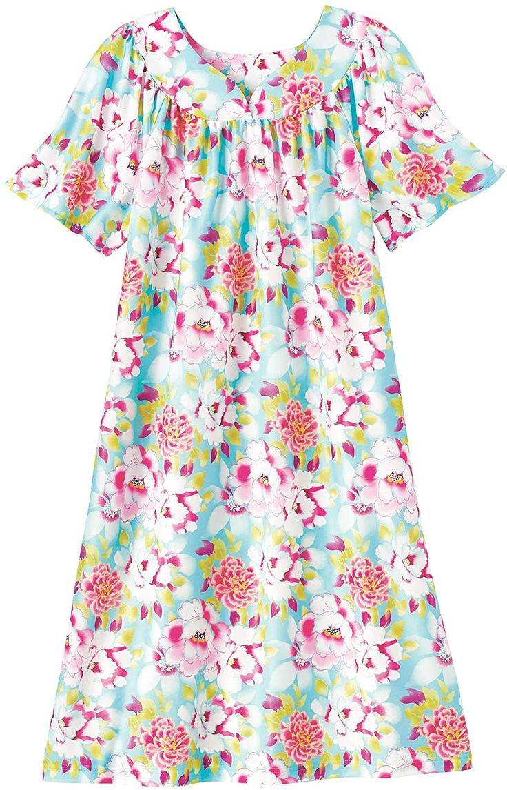Amerimark lounger house dress with pockets for women muu