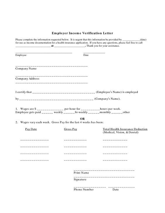 proof of employment letter  Employer Income Verification Letter  letters  Lettering House