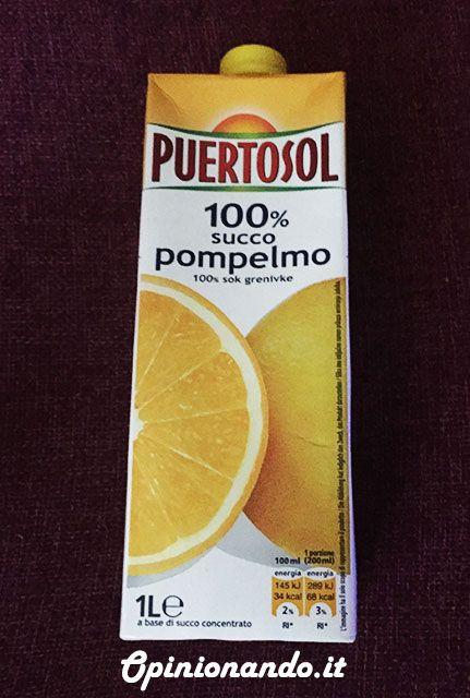 Puertosol Pompelmo confezione #recensione #Opinionando