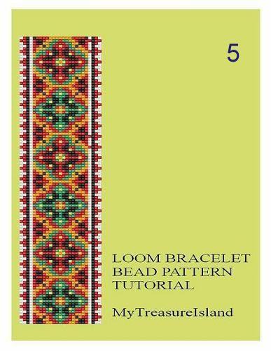 Grano telar motivos geométricos 5 6 7 pulsera de múltiples
