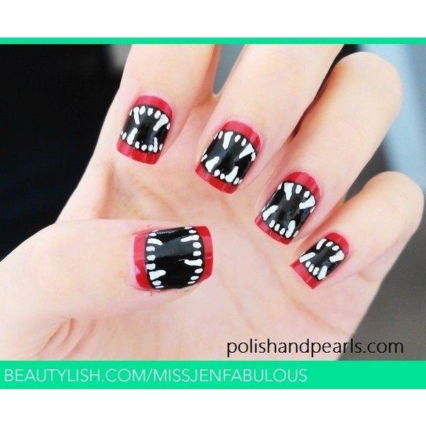 Vampire Nail Polish: Best 25+ Vampire Nails Ideas On Pinterest