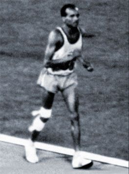 The Greatest Last Place Finish Ever  In the 1968 Mexico City Olympic games, a runner from Tanzania,  named John Stephen Akhwari, would compete in the marathon.   He suffered a bad a fall but he got up and kept running. Running on a badly injured leg, a voice called from within to go on.  When asked why he did not quit, he said simply . . .  'My country did not send 5000 miles to start the race; they sent me 5000 miles to Finish the race'