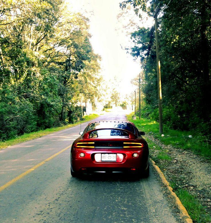 Mitsubishi eclipse 2g #mitsubishi #eclipse #mitsubishieclipse #dsmlive #eclipse2g #dsm #redcar #ontheroad #tailligths
