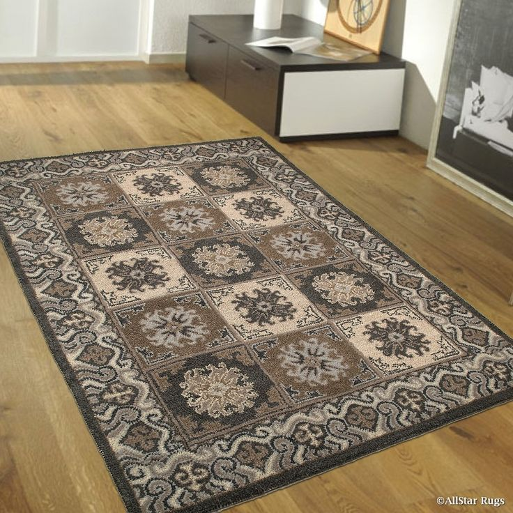 Shop For Grey AllStar Rugs Hand Made High Quality Extra Clean Wool Area Rugs.  Vintage And Artistry X 11