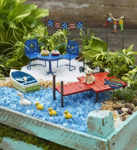 Ideas For Fairy Gardens ad diy ideas how to make fairy garden 55 Best Diy Inspiration Fairy Garden Ideas