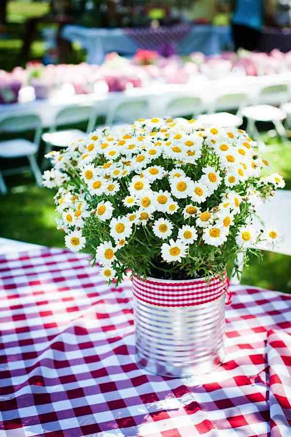 Strawberry Picnic + Shortcake 5th Birthday Party - Kara's Party Ideas - The Place for All Things Party