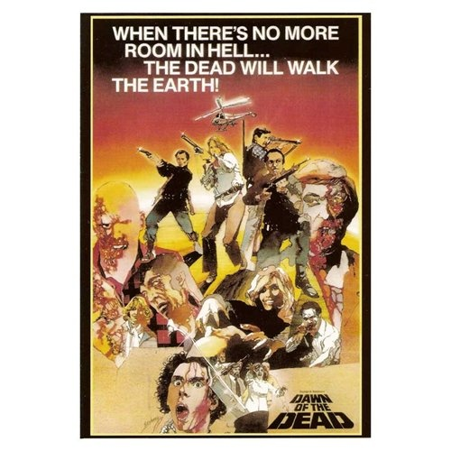 Dawn of the Dead Poster Movie B 27 x 40 In - 69cm x 102cm David Emge Ken Foree Gaylen Ross Scott H. Reiniger David Crawford David Early    1978 Dawn of the Dead Reproduction Poster Print Style B - Approximate Size 27 x 40 Inches -69cm x 102cm