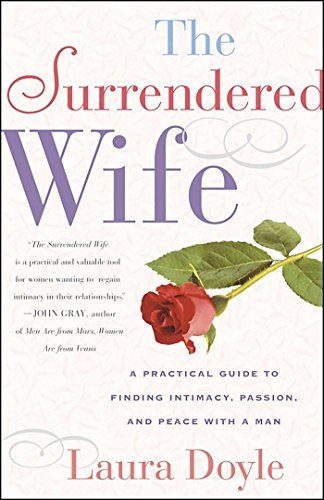 """A horrible little book encouraging women to be """"surrendered"""" (Stepford wives by another name): to let your husband dress you, to never give directions in the car (even if you mean to go to New York, and he's made a turn towards Nova Scotia), and to never say no to sex (even if you're feeling ill, are on your monthlies, or really just don't feel like it). Yep, sounds Stepford to me. And more than a little weird."""