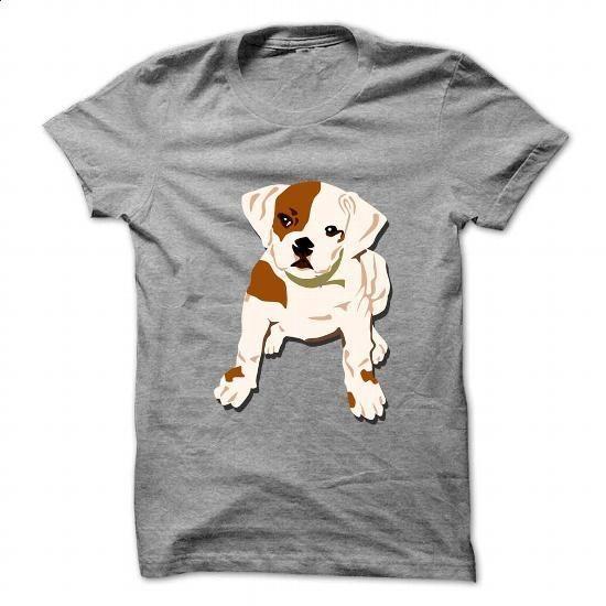 Bulldog puppy art - #shirt design #white hoodie. BUY NOW => https://www.sunfrog.com/Pets/Bulldog-puppy-art.html?60505