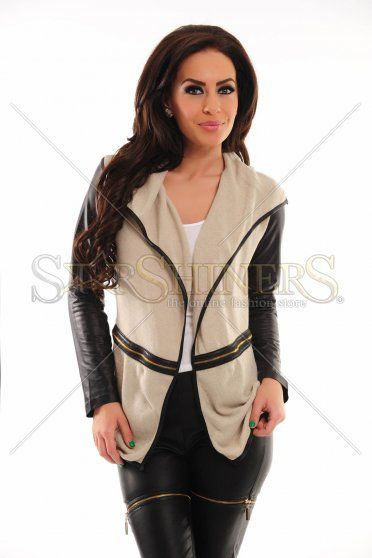 PrettyGirl Affective Cream Jacket