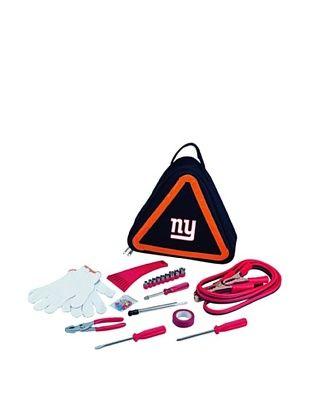 55% OFF Picnic Time NFL New York Giants Roadside Vehicle Emergency Kit