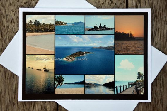 Photo Gift Greeting Card. Idyllic tropical Whitsundays, heart of the Great Barrier Reef by JenWatsonPhotography, $4.00