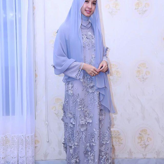 ,Terimakasih untuk doa-doa nya.love u all🙏🏼❤️ . . . Kaftan by @caftan.id  Hijab do @ayyih ❤️  #Regram via @laudyacynthiabella