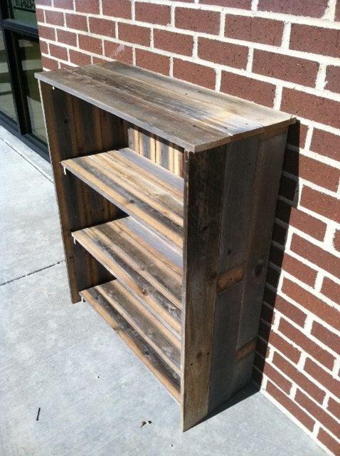Reclaimed Wood Bookcase GO GREEN Eco by unlimitedwoodworks on Etsy, $275.00 - Best 25+ Reclaimed Wood Bookcase Ideas On Pinterest Bookshelf