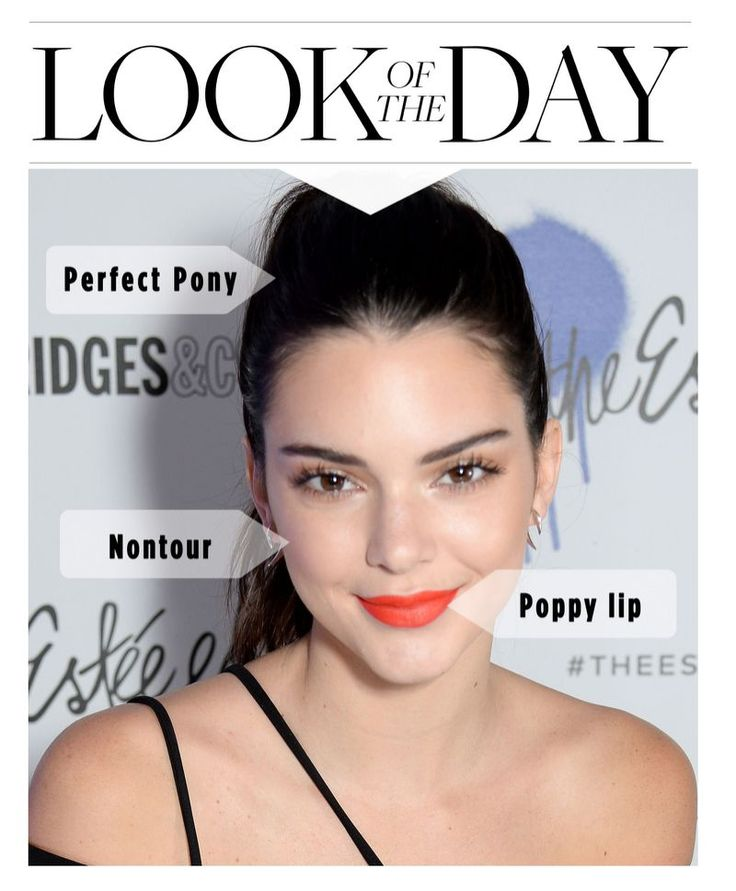 Kendall Jenner's look hits the nail on the head of every new trend.