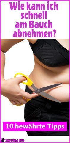 Wie kann ich schnell am Bauch abnehmen? Abnehmen am Bauch kannst du mit 10 bewährten Tipps